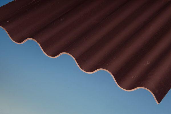 SWISSPEARL® (OWONIT®) Faserzement Wellplatte P5 (177/51) braun