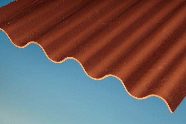 SWISSPEARL® (OWONIT®) Faserzement Wellplatte P5 (177/51) rot